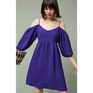 Moulinette Soeurs Carina Open Shoulder Dress